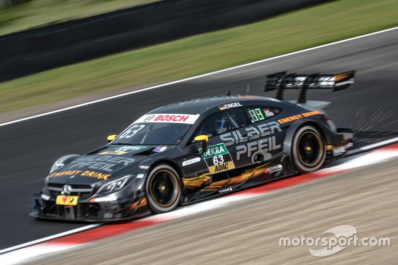 16. Maro Engel, Mercedes-AMG Team HWA, Mercedes-AMG C63 DTM