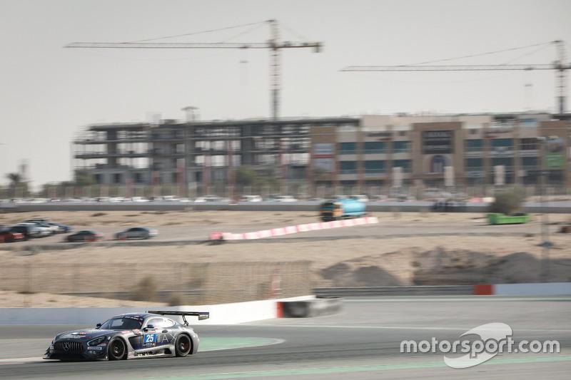 #25 HTP Motorsport Mercedes AMG GT3: Wim de Pundert, Bernd Schneider, Carsten Tilke, Alexander Hrachowina