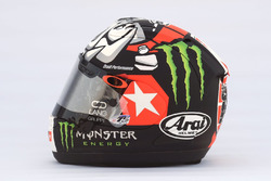 Le casque de Maverick Viñales, Yamaha Factory Racing
