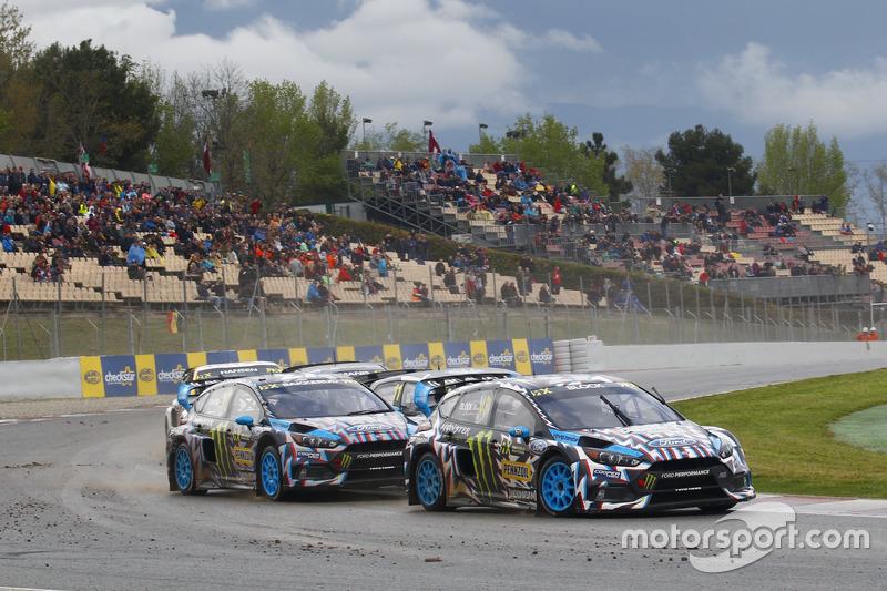 Ken Block, Hoonigan Racing Division, Ford Focus RSRX, Andreas Bakkerud, Hoonigan Racing Division, Ford Focus RSRX