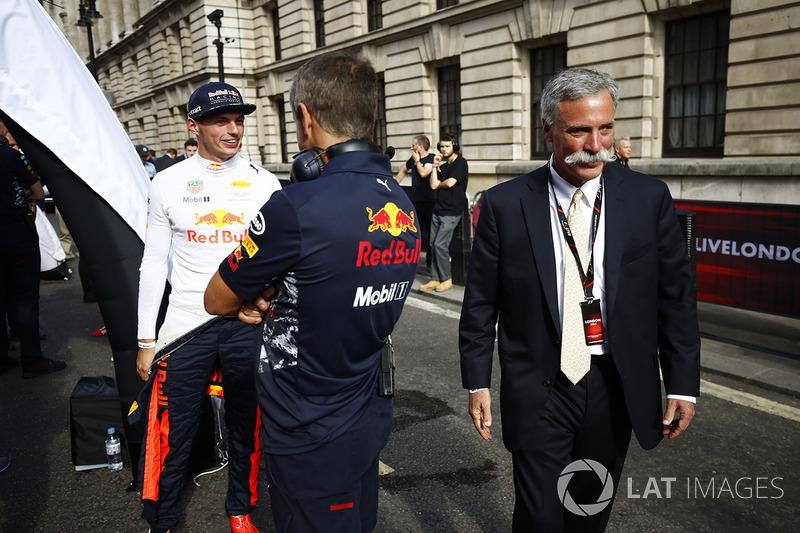 Керівник Ф1 Чейз Кері, Макс Ферстаппен, Red Bull