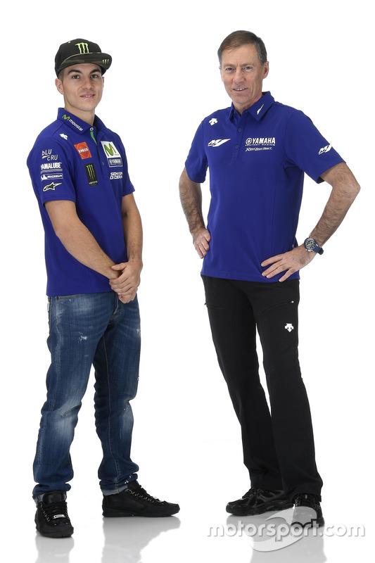 Lin Jarvis, Yamaha Factory Racing Gerente Director, Maverick Viñales, Yamaha Factory Racing