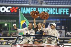 Tony Kanaan and Felipe Massa, Team Brazil