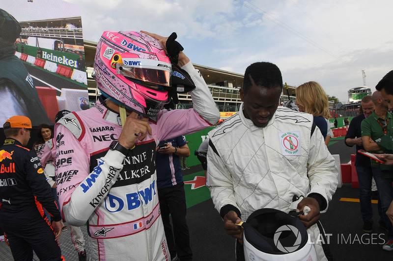 Sergio Perez, Sahara Force India and Dida