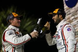 Podium PC : les troisièmes Gustavo Yacaman, Chapman Ducote, BAR1 Motorsports