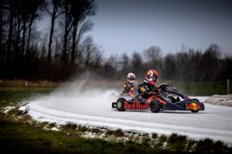 Pierre Gasly and Max Verstappen