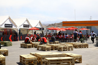 Fahrerlager am Circuito San Juan Villicum