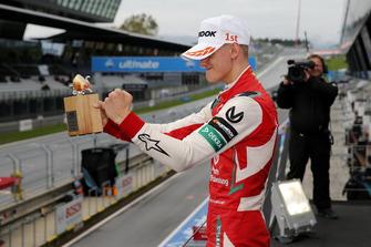 Podium: Race winner Mick Schumacher, PREMA Theodore Racing Dallara F317 - Mercedes-Benz