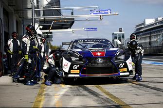 #114 Emil Frey Lexus Racing Lexus RC F GT3: Norbert Siedler, Markus Paltalla