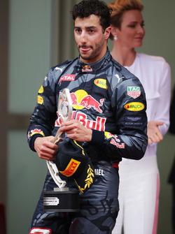 Даніель Ріккардо, Red Bull Racing на подіумі