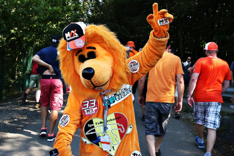 Fans de Max Verstappen, Red Bull Racing