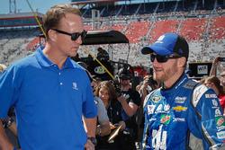 Dale Earnhardt Jr., Hendrick Motorsports Chevrolet y Peyton Manning