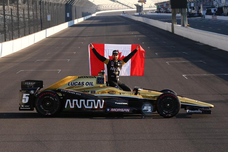 #3: Indy-500-Polesitter James Hinchcliffe (Schmidt-Honda)