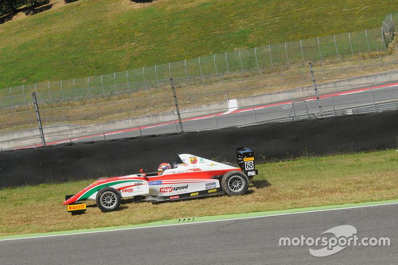 Juan Manuel Correa, Prema Powerteam ritorna in pista dopo l'incidente con il compagno di squadra Mick Schumacher, Prema Powerteam