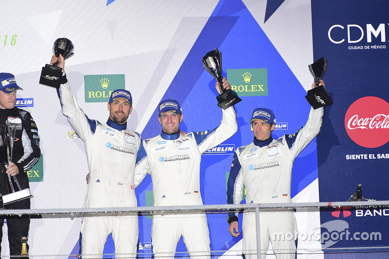 LM GTE Am third place Christian Ried, Wolf Henzler, Joël Camathias, KCMG