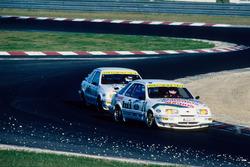 Bernd Schneider, Grab Ford Sierra XR4Ti, und Beate Nodes, Grab Ford Sierra XR4Ti