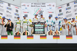 Podium: 2. #75 Zakspeed, Mercedes AMG-GT3: Sebastian Asch, Kenneth Heyer; Sieger #28 Land Motorsport, Audi R8 LMS: Christopher Mies, Connor De Phillippi; 3. #4 Team Falken, Porsche 911 GT3-R: Wolf Henzler, Martin Ragginger.