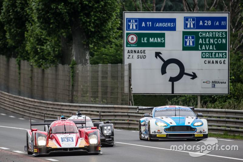 #8: Hunaudieres-Gerade in Le Mans