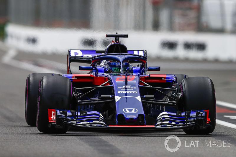19: Brendon Hartley, Toro Rosso STR13 Honda, 1'57.354