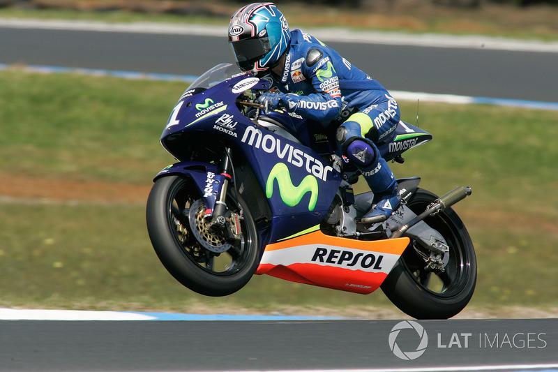 2005, 250cc: Campeão mundial, 309 pontos