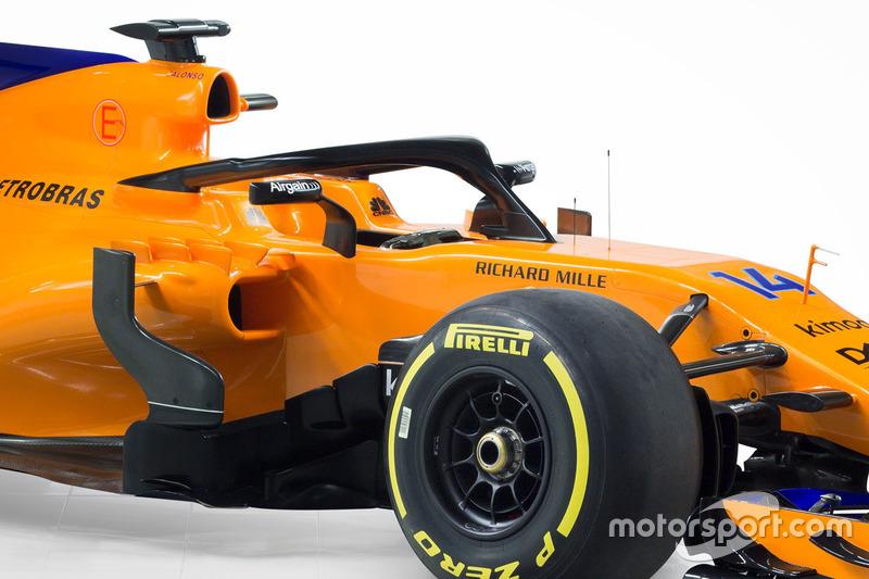 Система Halo на McLaren MCL33