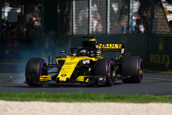 Nico Hulkenberg, Renault Sport F1 Team R.S. 18 bloque une roue