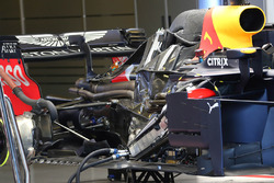 Detalle del motor del Red Bull Racing RB14