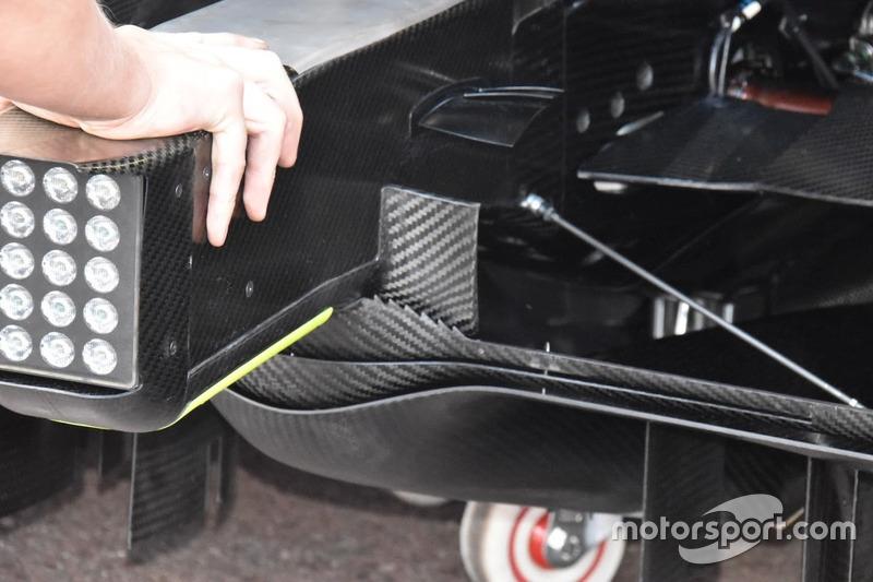 Mercedes-AMG F1 W09 diffuser