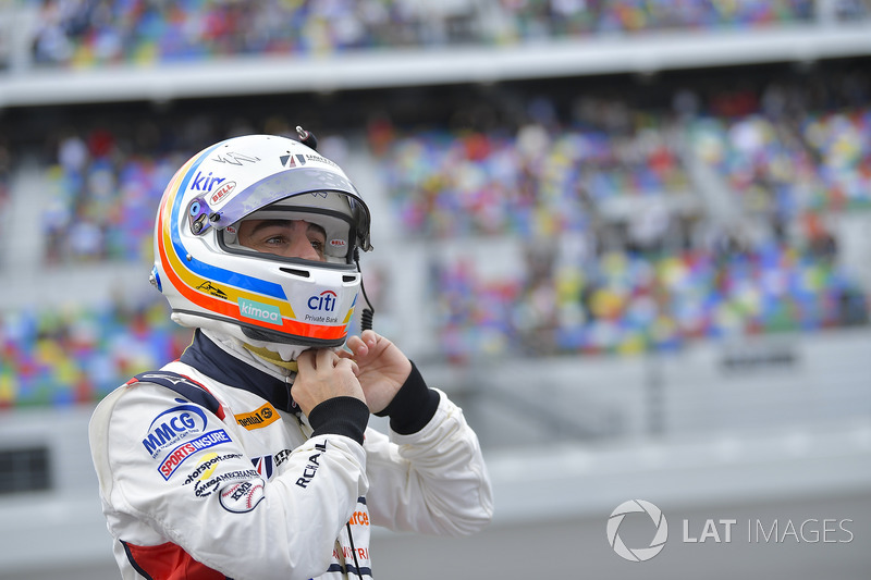 Alonso in Daytona 2018
