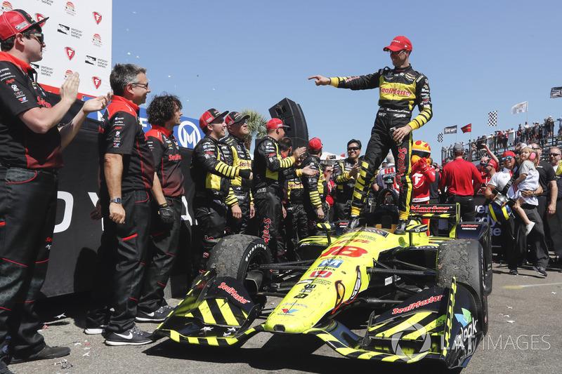 2018 Verizon IndyCar Series TEAM CHART & SCHEDULE - RuRa ...