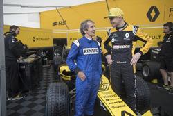 Alain Prost, Renault Sport F1 Team, Nico Hulkenberg, Renault Sport F1 Team