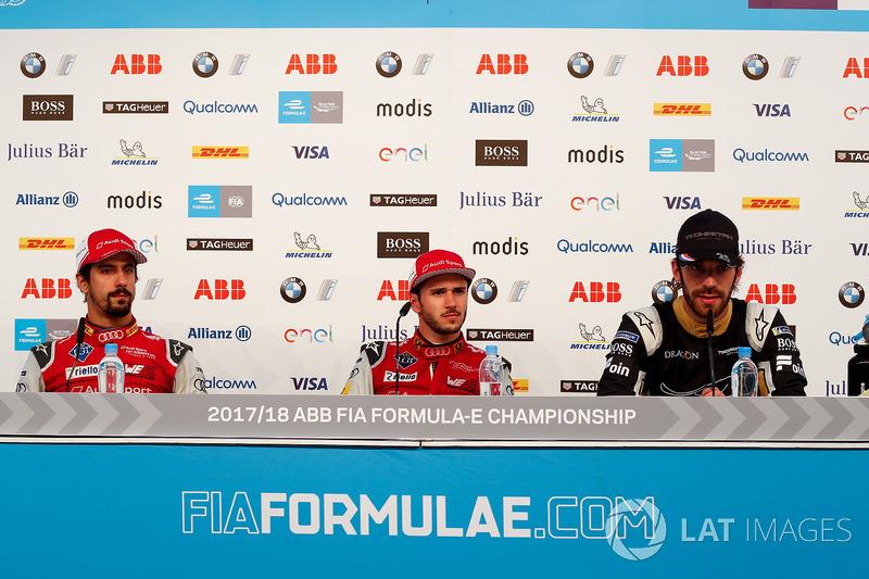 Daniel Abt, Audi Sport ABT Schaeffler, Jean-Eric Vergne, Techeetah., Lucas di Grassi, Audi Sport ABT Schaeffler