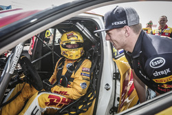 Tom Coronel, Boutsen Ginion Racing Honda Civic Type R TCR with Max Verstappen