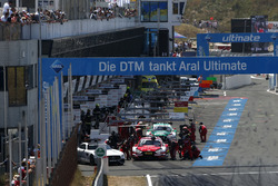 Pitstop, René Rast, Audi Sport Team Rosberg, Audi RS 5 DTM