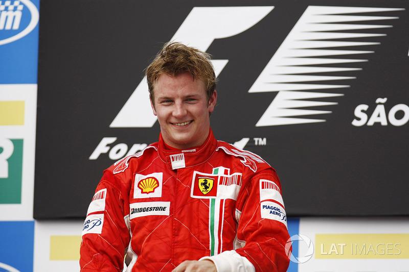 Kimi Raikkonen (9 victorias)