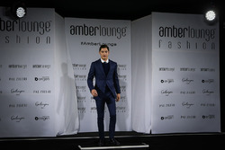 Alfonso Celis Jr. at Amber Lounge Fasion Show