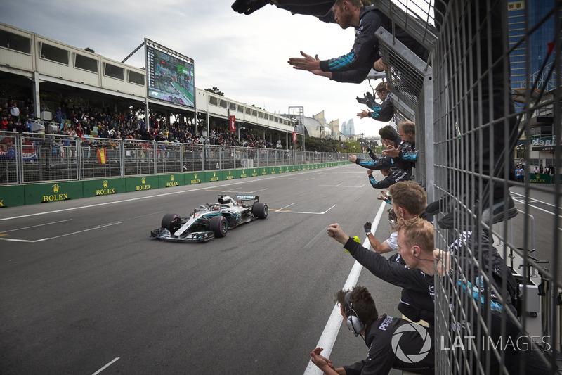 GP de Azerbaiyán: Lewis Hamilton