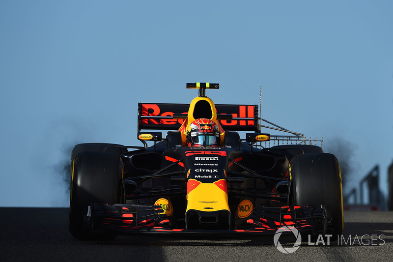 Max Verstappen, Red Bull Racing RB13 with aero sensor