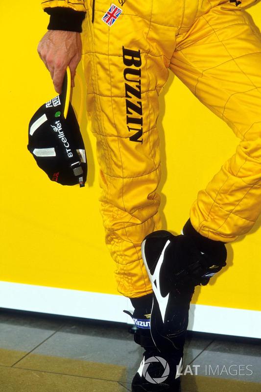 Damon Hill, Jordan