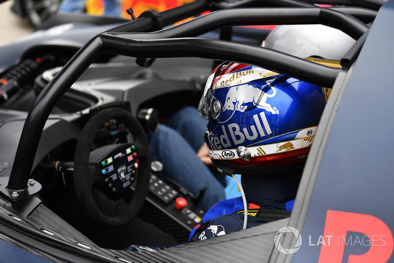Pierre Gasly, Scuderia Toro Rosso in the KTM X-Bow