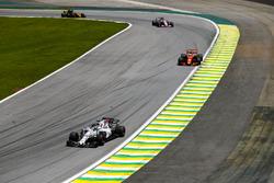Felipe Massa, Williams FW40, Fernando Alonso, McLaren MCL32, Sergio Perez, Sahara Force India F1 VJM10