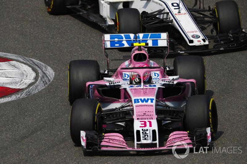 11e : Esteban Ocon (Force India)