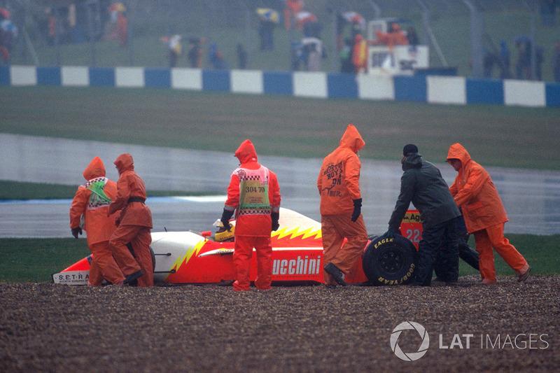 Лука Бадоер, Lola BMS Scuderia Italia, 1993 год