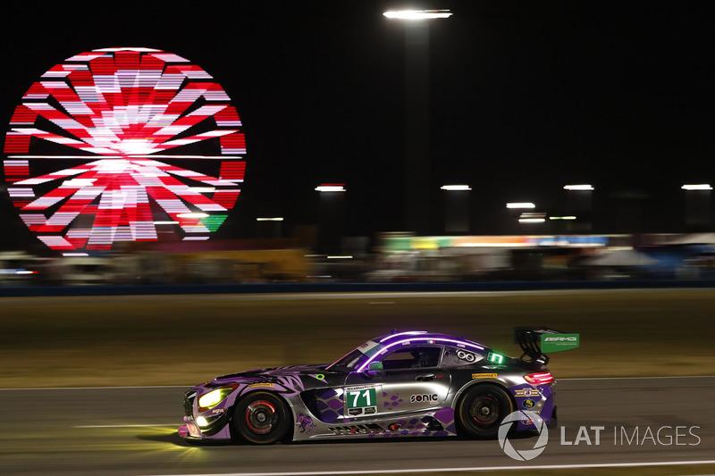 #71 P1 Motorsports Mercedes AMG GT3, GTD: Кентон Кох, Роберт Фолі ІІІ, Хуан Перес, Лоріс Спінеллі