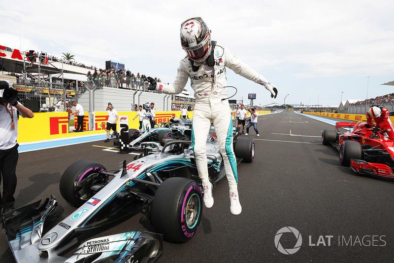 Poleman Lewis Hamilton, Mercedes AMG F1