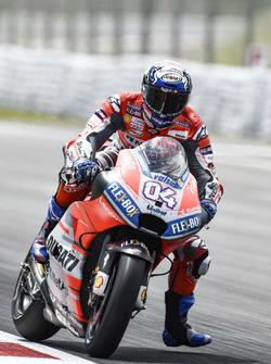 Barcelona Motogp Dovizioso Tops Fp3 Marquez To Q1
