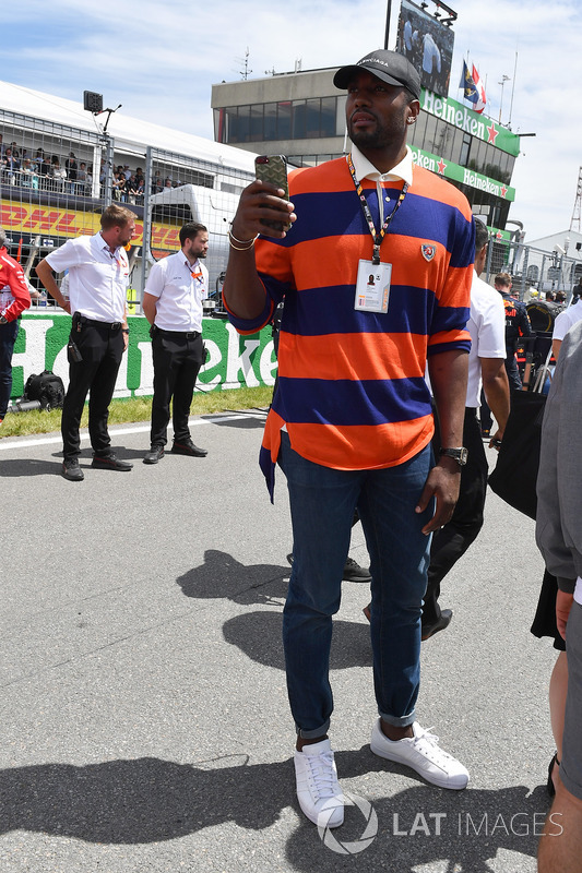 Serge Ibaka, Basketball Player on the grid