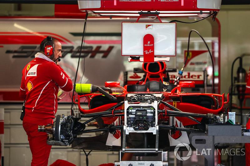 Ferrari SF70H: Chassis