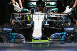 Mercedes-Benz F1 W08 aero sensörleri