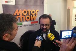 Rino Drogo alla presentazione del Moto Show 2017